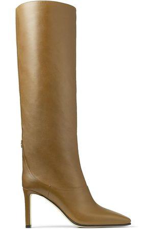 Jimmy Choo Mahesa 85mm leather boots