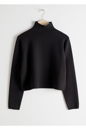 & OTHER STORIES Cropped Relaxed Fit Turtleneck