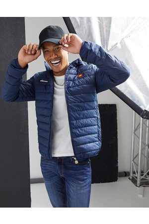Ellesse Puffer Jackets - Padded lombardy jacket in navy