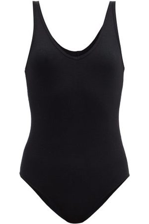 ATM Anthony Thomas Melillo Women Bodies - V-neck Ribbed Bodysuit - Womens