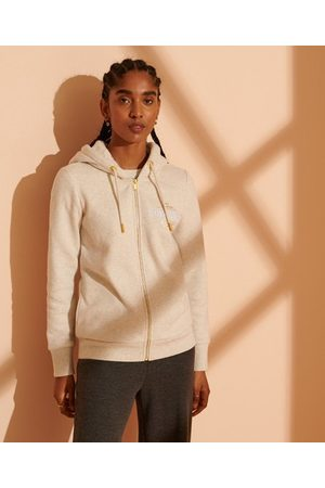 Superdry Women Hoodies - Established Zip Hoodie