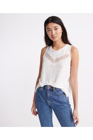 Superdry Chevron Lace Vest Top
