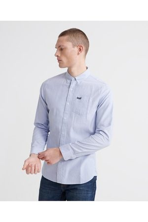 Superdry Long Sleeve Classic University Oxford Shirt