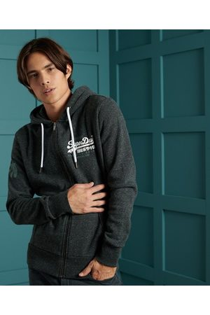 Superdry Vintage Logo Duo Brushed Zip Hoodie
