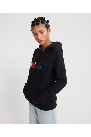 Superdry Classic Rainbow Embroidered Hoodie