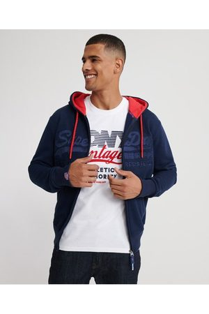 Superdry Downhill Racer Applique Zip Hoodie