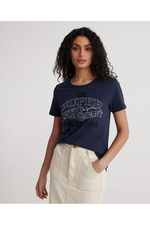 Superdry Workwear Chainstitch Embroidered T-Shirt