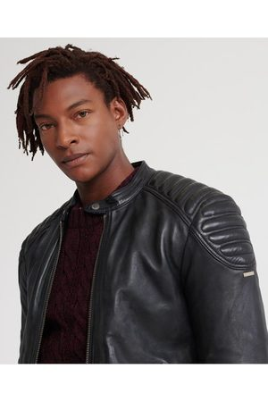 Superdry City Hero Leather Racer Jacket