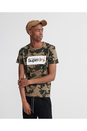 Superdry Core Logo Tag Camo All Over Print T-shirt
