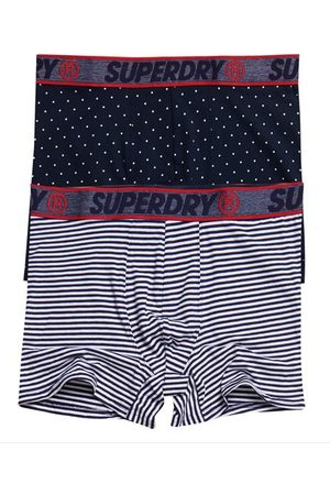 Superdry Organic Cotton Boxer Double Pack