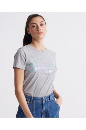 Superdry Vintage Logo Stitch Sequin T-Shirt