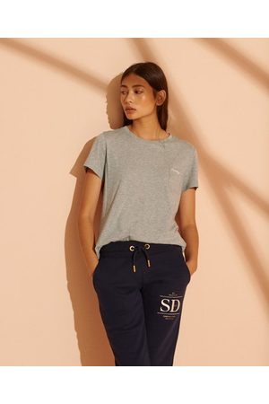 Superdry Organic Cotton Scripted Crew Neck T-Shirt