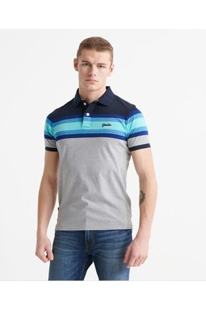 Superdry Organic Cotton Malibu Stripe Polo Shirt