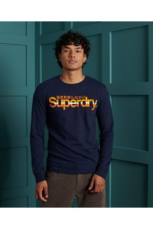 Superdry Core Logo Vintage Stripe Top