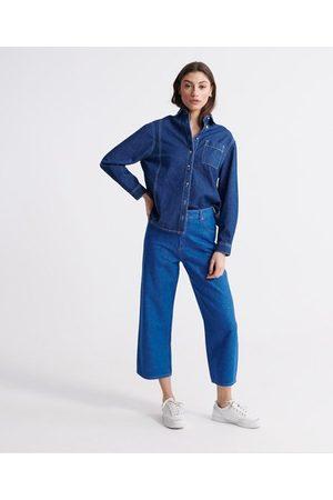 Superdry Wide Leg Crop Jeans