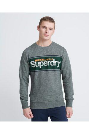 Superdry Core Logo Stripe Loopback Crew Sweatshirt