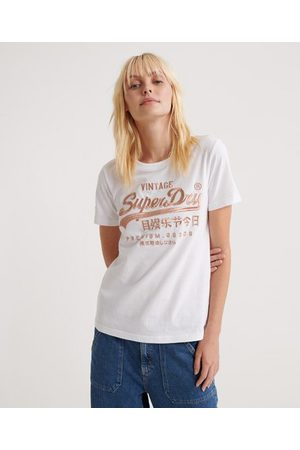 Superdry Premium Goods Luxe Embroidered T-Shirt