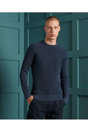 Superdry Academy Dyed Texture Crew Sweatshirt