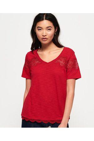 Superdry Lizzie Lace Insert T-shirt