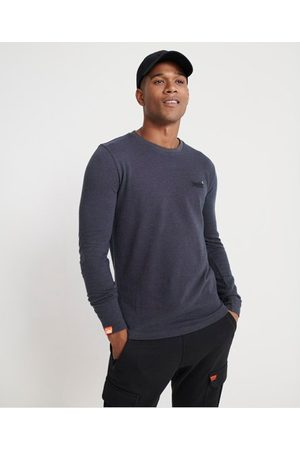 Superdry Orange Label Twill Texture Long Sleeve Top