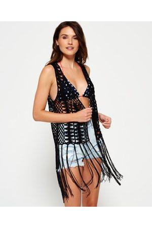 Superdry Dream Catcher Crochet Waistcoat