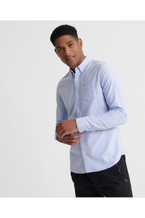 Superdry Classic University Oxford Long Sleeve Shirt