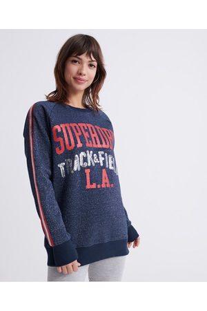 Superdry LA Track Boutique Crew Sweatshirt