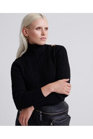 Superdry Croyde Cable Roll Neck