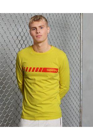 Superdry Men Tops - Core Logo Sport Stripe Top