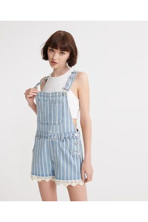 Superdry Dungaree Lace Boyshort