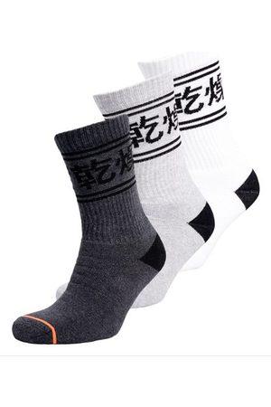 Superdry Organic Cotton Trophy Crew Sock Triple Pack