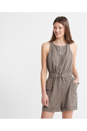 Superdry Nevada Halter Playsuit