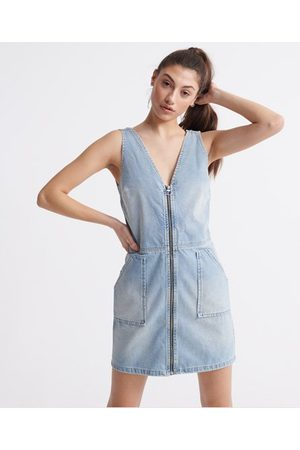 Superdry Denim Zipthrough Dress