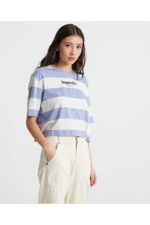 Superdry Harper Stripe Boxy T-Shirt