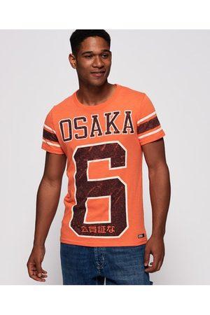 Superdry Men Short Sleeve - Osaka 6 Quarter Back T-Shirt