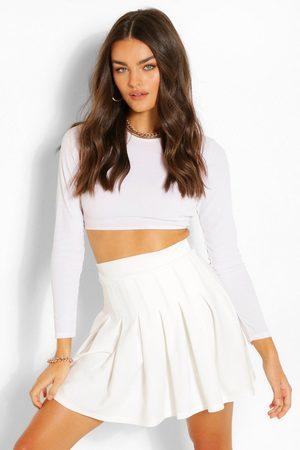 Boohoo Womens Pleated Tennis Skirt - - 4