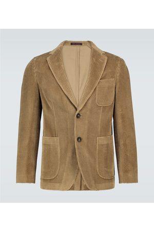 THE GIGI Angie single-breasted corduroy blazer