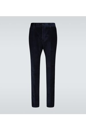 Dolce & Gabbana Straight-fit corduroy pants