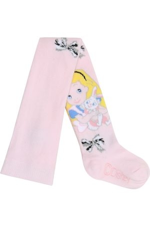 MONNALISA X Disney® Alice cotton-blend tights