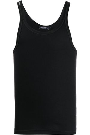 Dolce & Gabbana Scoop-neck tank top