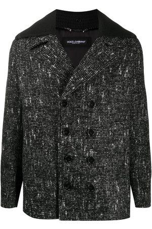 Dolce & Gabbana Fantasia check wool coat