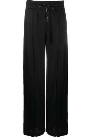 OFF-WHITE High-waisted straight-leg track pants