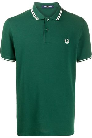 Fred Perry Men Polo Shirts - Logo embroidered polo shirt