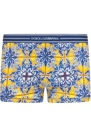 Dolce & Gabbana Tile-print boxers