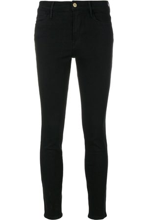 Frame High rise skinny jeans