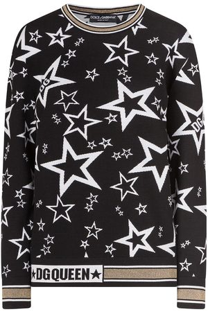 Dolce & Gabbana Women Sweaters - Star mofif jumper