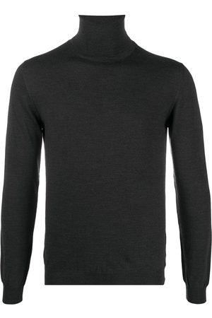 ZANONE Slim-fit roll-neck jumper - Grey