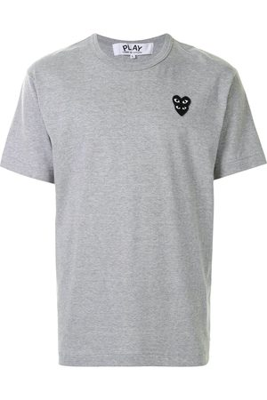 Comme des Garçons Logo patch T-shirt - Grey