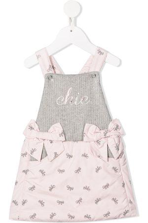 Lapin House Bow print dress