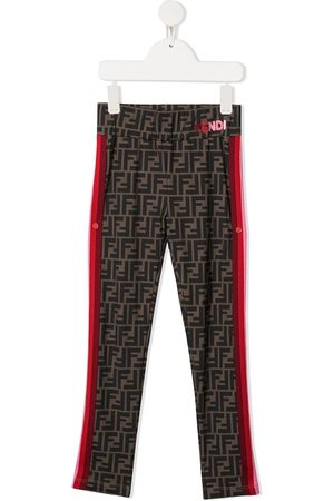 Fendi Zucca-print leggings